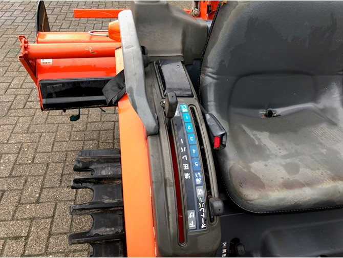 KUBOTA GB 180 TRACTOR + FREES